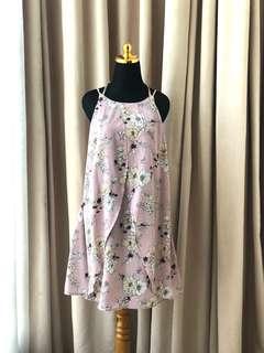 Zara forever21 Et Cetera pink floral dress