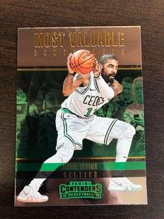 🚚 Kyrie Irving 2018-19 NBA Panini Contenders Basketball Most Valuable Contenders Card