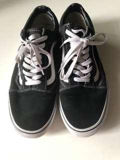 Vans old skool uk 9有全新原裝鞋盒