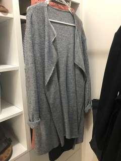 Size 8 grey cardigan / jacket