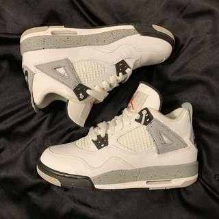 Air Jordan Cement 4s. 4.5Y