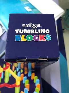Smiggle tumbling blocks 6+