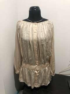 GUESS by Marciano cream blouse