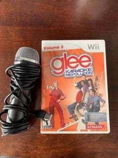 Wii Glee karaoke