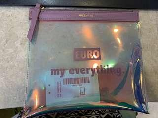 """PortsPure """"EURO my everything"""" Plastic clutch"""