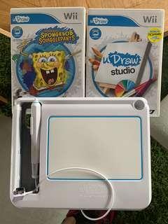Wii uDraw Spongebob & uDraw studio