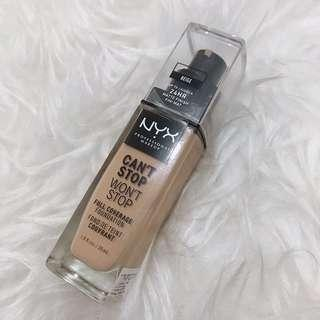 NYX CANT STOP WONT STOP FOUNDATION