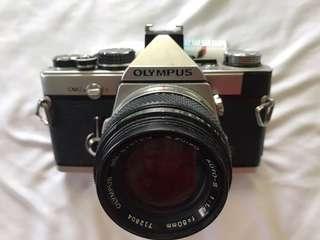 OLYMPUS OM-2n (Lens 50mm f1.4 G.ZUIKO)