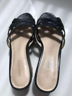 Nine West Leather Wedges 9M