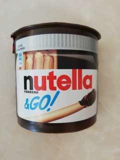 Nutella 餅乾條