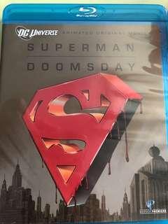 Superman doomsday (bluray)