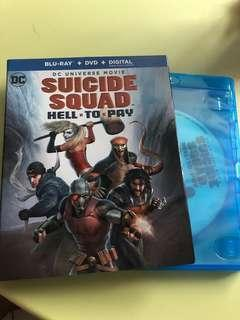Suicide squad hell to pay (dvd)
