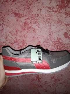 Sepatu Puma Abu Merah
