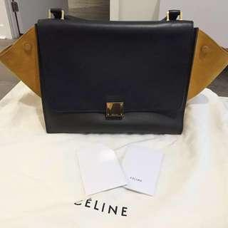 Authentic Celine Trapeze - Tricolour