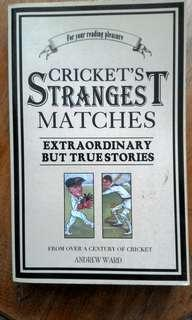Collectible: Cricket's Strangest Matches