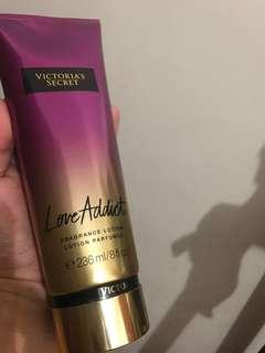 Authentic VS Love Addict Lotion