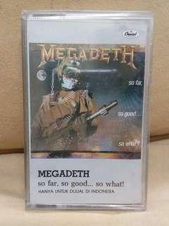 Kaset Megadeth