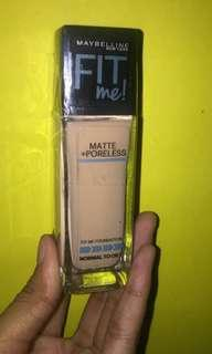Maybelline Fit Me Foundation Matte+Poreless