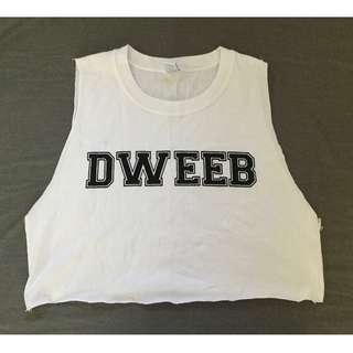 'Dweeb' Crop-top
