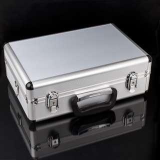 Aluminum Transmitter Box Carrying Case 35cm x 23cm x 12cm