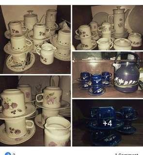 Tea set antik murmer