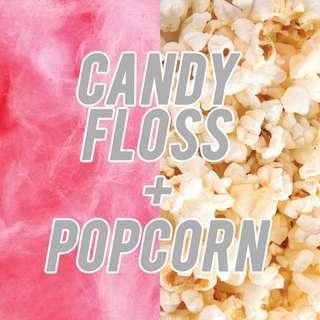 Popcorn / Candyfloss