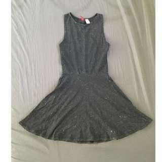 Dark-grey H&M Divided dress
