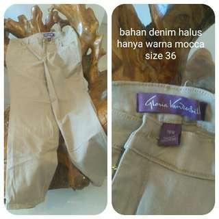 Gloria V Mocca Stretch Jeans