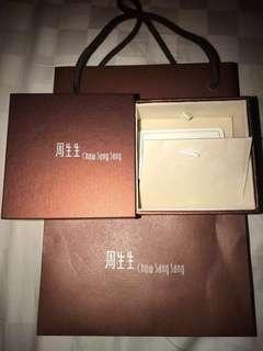 ✨Reduced✨Chow Sang Sang box set