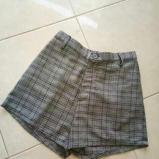 Zara lookalike Grid Pants