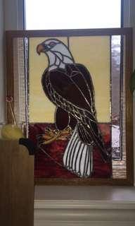 Stain glass Decorate Art - eagle