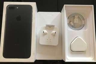 iPhone 7 Plus (128GB Black/ Full Set)