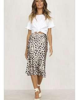Petal and pup skirt