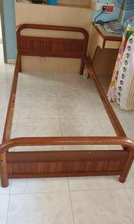 Single Bed Frame *Mattress not included, Used* Low Price