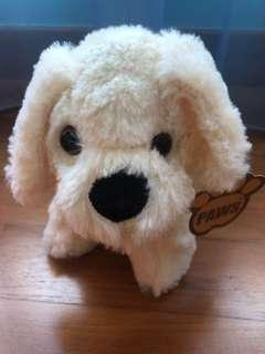 Brand New White Dog Plushie