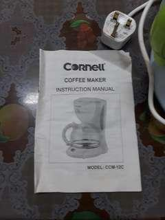 Cornell coffee maker