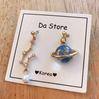 星球韓國耳環 | Korea Earrings (Star Planet)