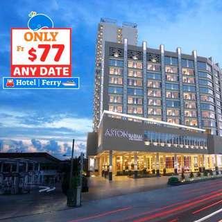 [🔥NEW🔥] 2D1N Aston Hotel Batam + 2-Way Ferry + Land Transfer + Breakfast