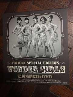 Wonder Girls Taiwan Special Edition CD & DVD