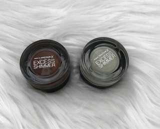 Max Factor Shimmer Cream Eyeshadows