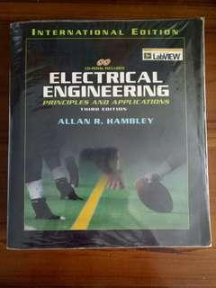 Electrical Engineering Principles and Applications (3rd Edition) by Allan R Hambley with CD Rom