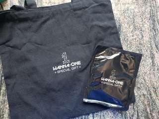 W1 final concert official tote bag + warmer instock