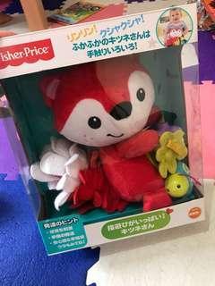 Fisher price 日本狐狸公仔 Vtech