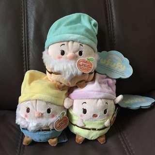 香港迪士尼ufyfy小矮人公仔 白雪公主 Snow White