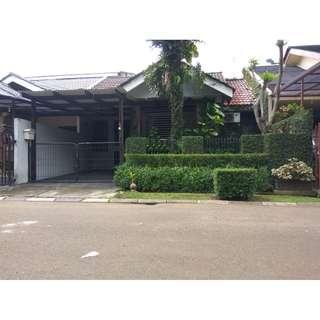 rumah bagus, murah banget, besar, strategis, aman, nyaman, villa melati mas serpong, akses tol, st KA rw buntu, Bsd