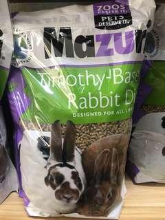 🚚 Mazuri Timothy-Based Rabbit Diet 5lbs