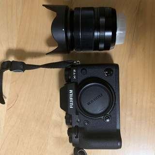 Fujifilm X-T2 with 18-55mm f2.8-4