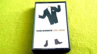 🚚 THE KINKS . uk jive . Cassette tape not vinyl record