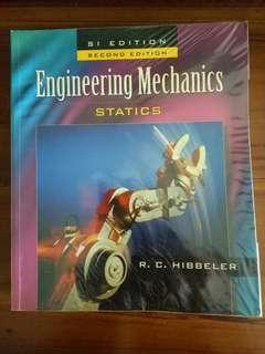 Engineering Mechanics Statics (2nd Edition) by RC Hibbeler