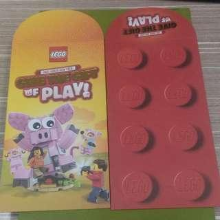 Lego CNY 2019 Angpow Packet Sampul duit